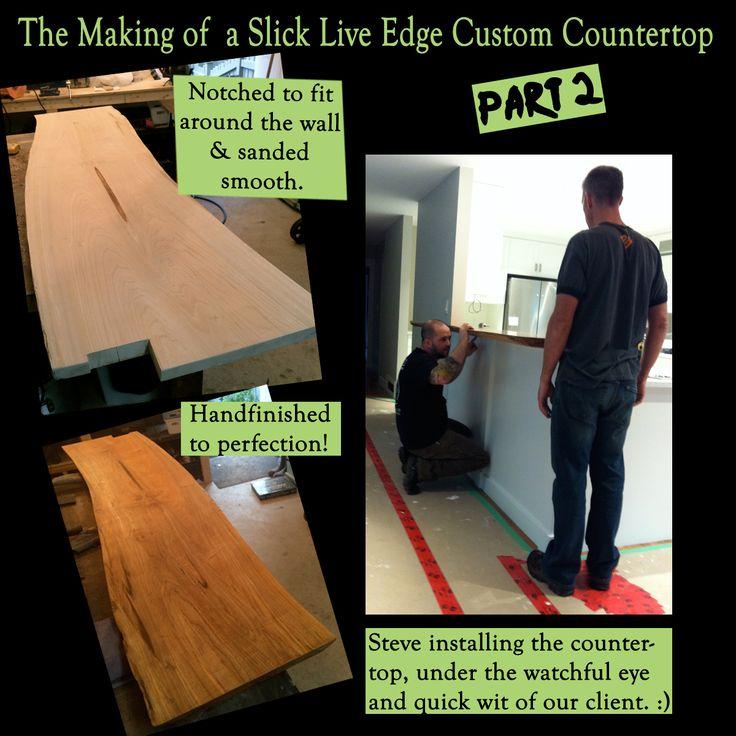 Live Edge Maple Countertop!