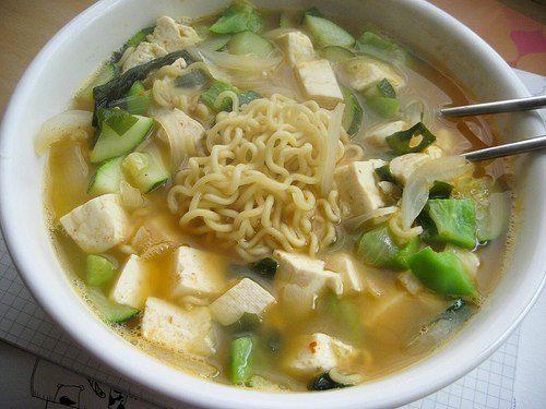 Vegan Ramen with Tofu