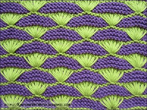 Vzor č. 95 – Kaleidoskop vzorů pro ruční pletení