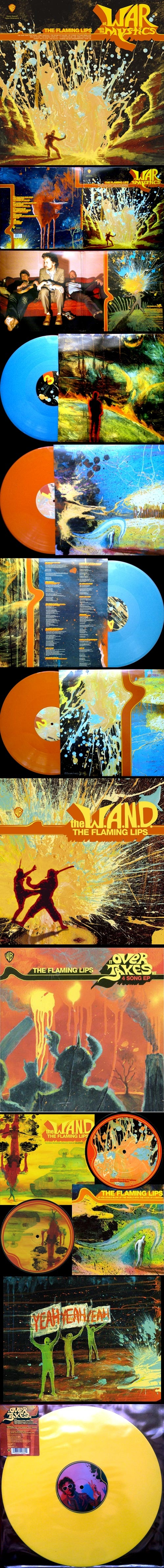 The Flaming lips – At war with the mystics  Art by: George Salisbury