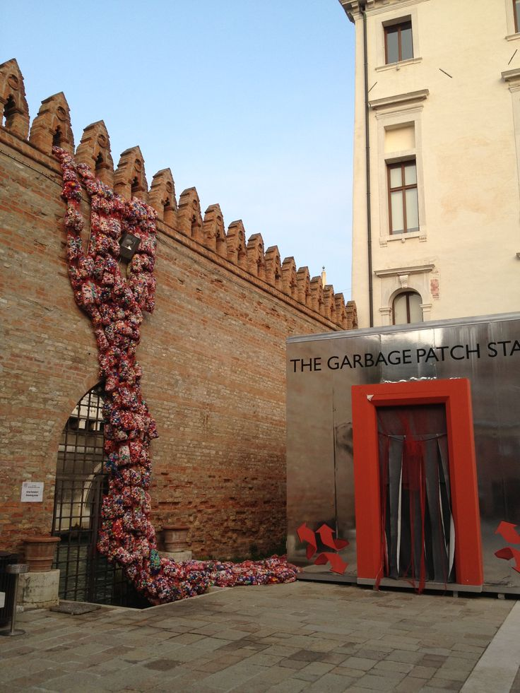 The garbage patch state by Maria Cristina Finucci