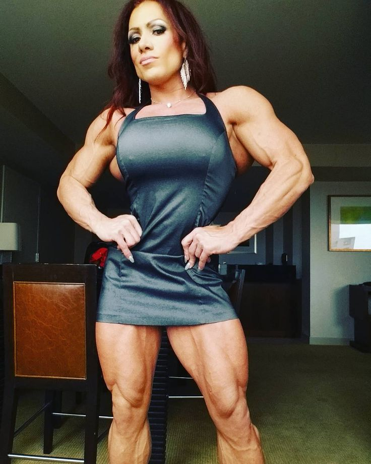 Fbbpics Big Muscles Isabelle Turrell Tarentino  Muscle Women-4575