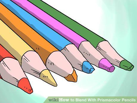 Image titled Blend With Prismacolor Pencils Step 2