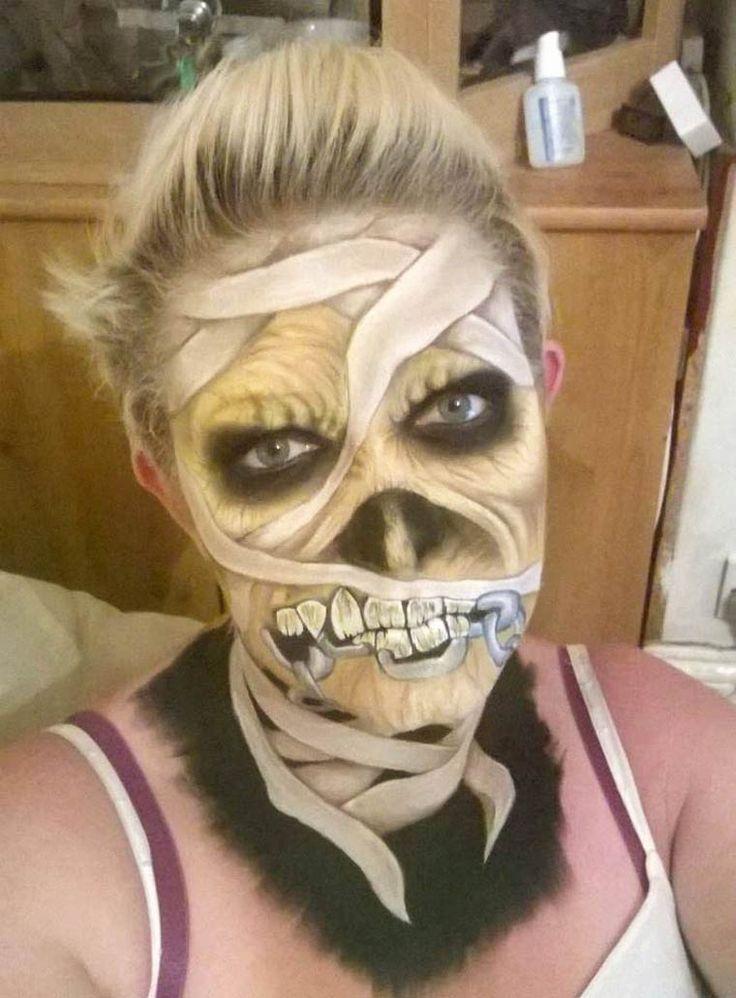 The Painting Lady – Les horribles maquillages d'Halloween de Nikki Shelley Plus