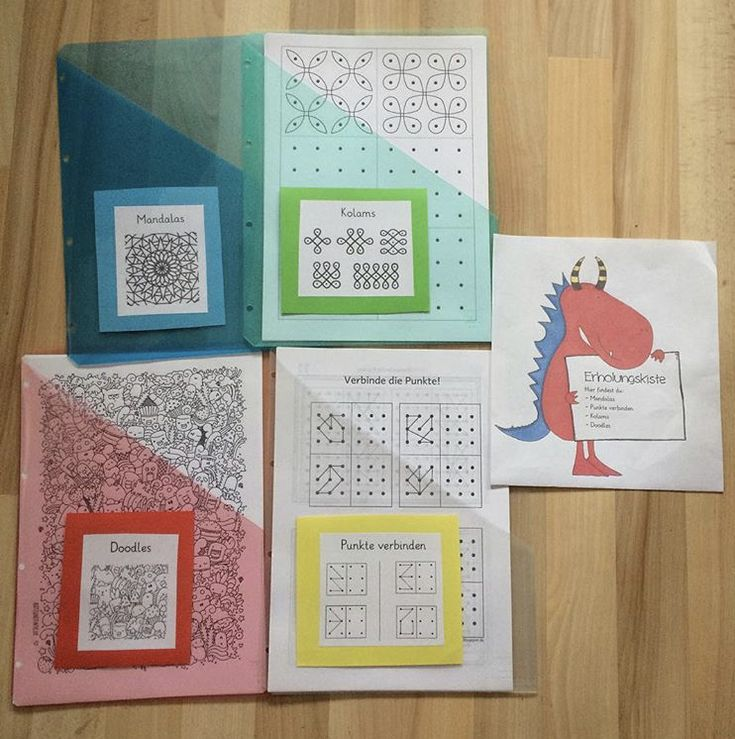 Recovery box / substitute material | elementary school …