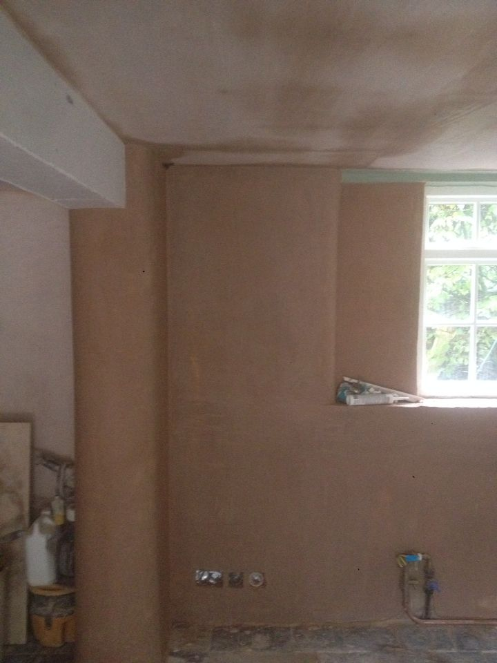 Rounded with hardwall and skimmed for old affect to maintain character