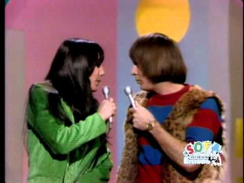 """Sonny and Cher performing """"I Got You Babe"""" on The Ed Sullivan Show on September 26, 1965."""