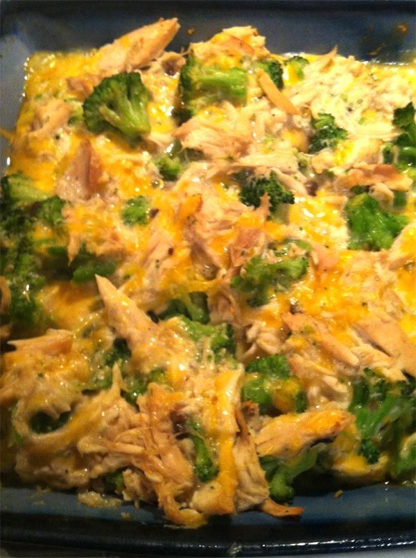 NZ Easy Chicken Broccoli Casserole In Under 30 Minutes Only 5 ingredients! @ Appetizergirl.com