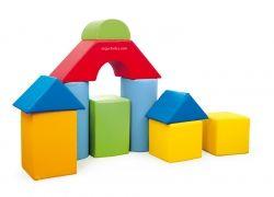 Set de construcción foam nº 3 10 piezas