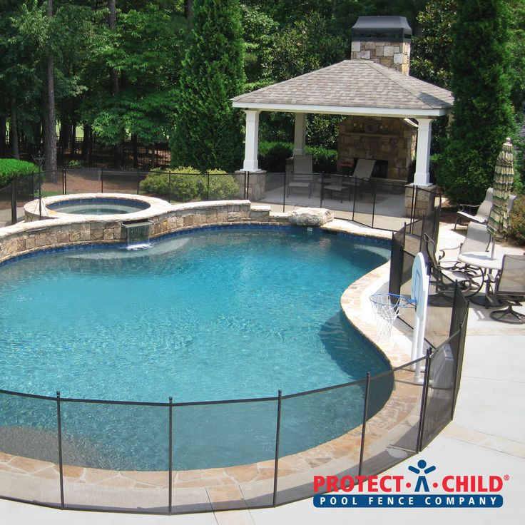 Beautiful Pool And Patio In Alpharetta, GA. Now Much Safer With Our Mesh  Pool
