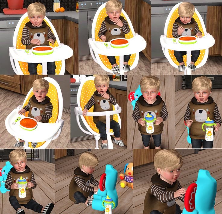 Sunny CC Finds, emysimss:   15 Poses for Tots / Set I   7 Poses...