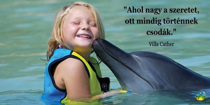 Willa Cather gondolata a szeretetről. A kép forrása: Az Út a Boldogsághoz # Facebook