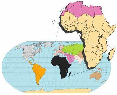 MAP SHOWING GEOLOGY, OIL AND GAS FIELDS AND GEOLOGIC PROVINCES OF AFRICA, VER. 2.0