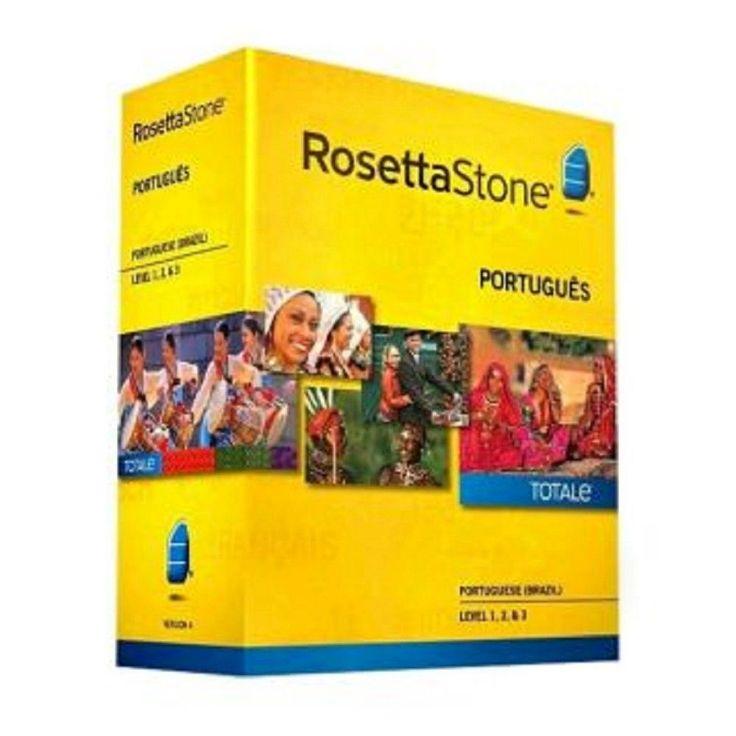 Rosetta Stone Portuguese (Brazil) v4 TOTALe - Level 1, 2 & 3 Set - Learn Portuguese (Multimedia)