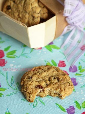Biscuits aux flocons d avoine et aux raisins secs