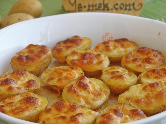 Fırında Kaşarlı Taze Patates Resmi, Kolay ve Resimli Nefis Yemek Tarifleri