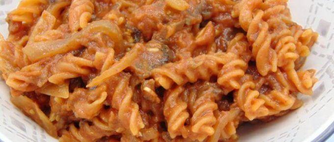 Pasta De Lentejas Con Salsa De Berenjena Y Almendra Tasty Details Receta Platos De Pasta Comida étnica Pasta Con Brócoli