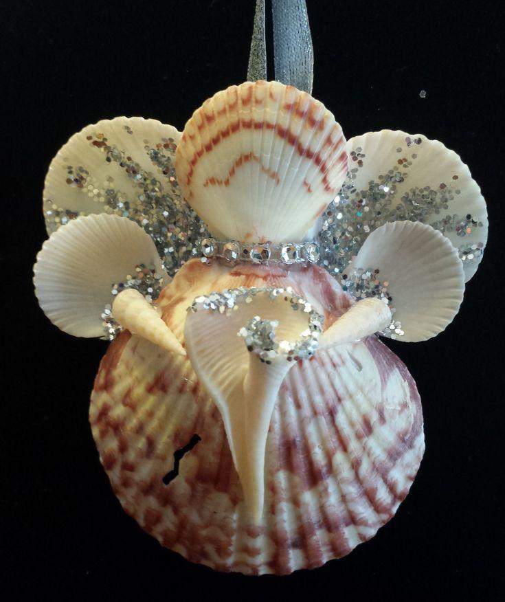 1000 images about sea shells on pinterest seashell for Seashell ornament ideas