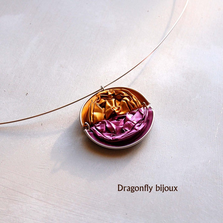"""recy nespresso necklace in """"Sunset"""""""