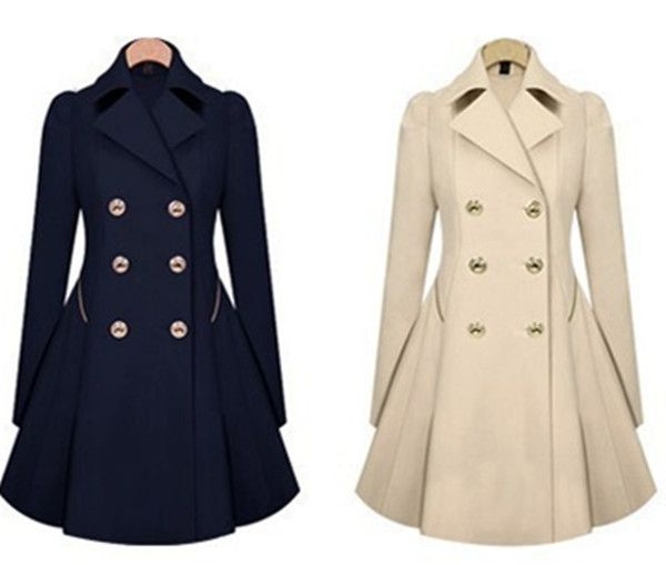 2014 new autumn winter women coat jacket jackets desigual women trech coat overcoat women casual clothing jacket plus size -in Trench from Women's Clothing & Accessories on Aliexpress.com | Alibaba Group