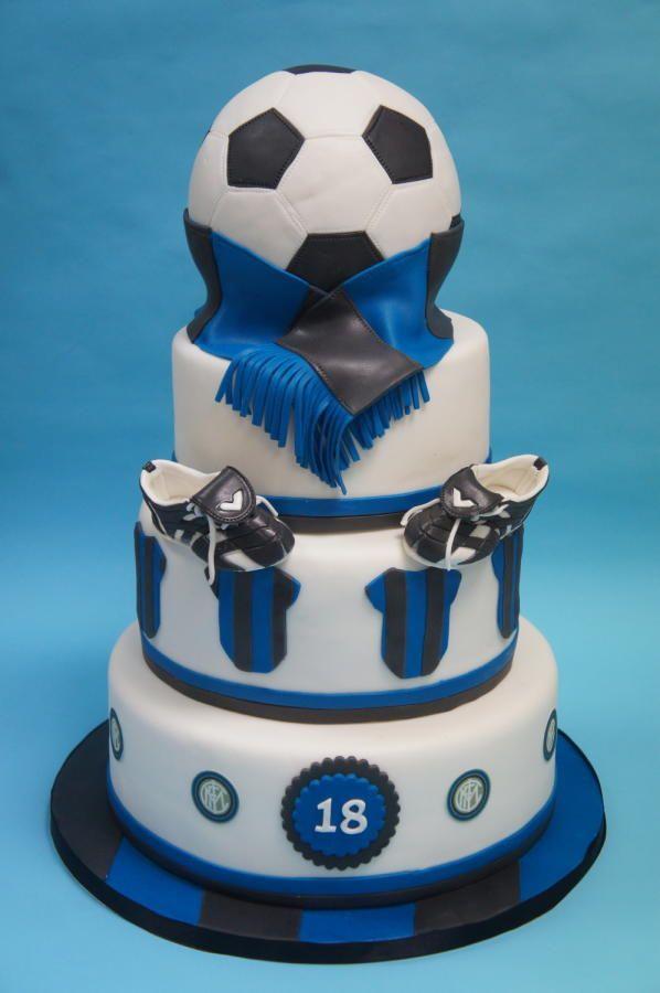 Inter football cake