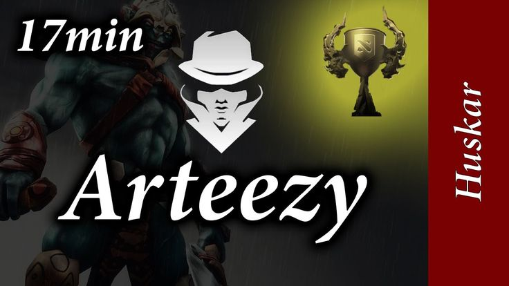 Team Secret Arteezy is playing a Battle Cup as Huskar with EternaLEenVy as Batrider, Aui as Drow Ranger, and SENPAI!.Karma as Oracle. Its a fast game, over i...