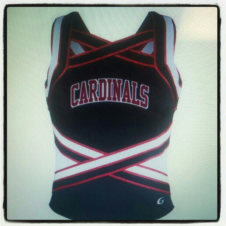 Our varsity cheer tops :)