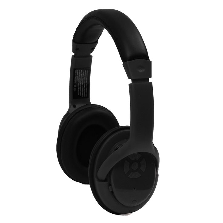 Craig Bluetooth Stereo Headphone- Black. * Manage your music player directly from the headphone with functions such as play, pause, next and previous track and volume* 3.5mm aux in jack to use as regular headphones* Music time: 10 hours* Available distance: >33ft* Standby time: Above 150 hoursaccessories:* 3.5mm aux in cable* Mini USB cable