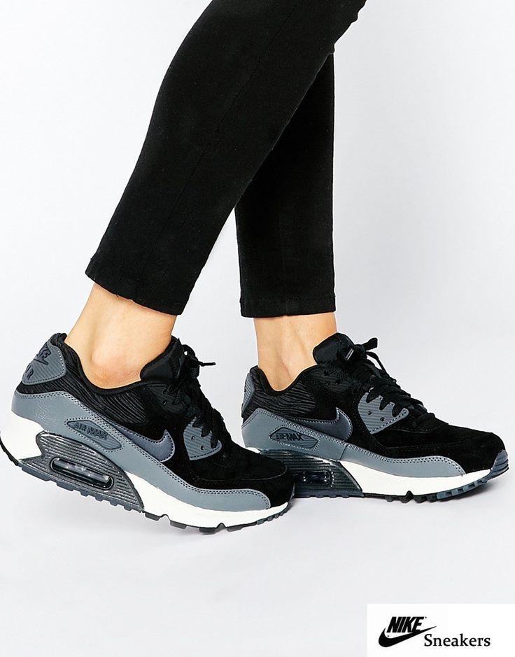 Nike Air Max 1 Schwarz Weiß Damen