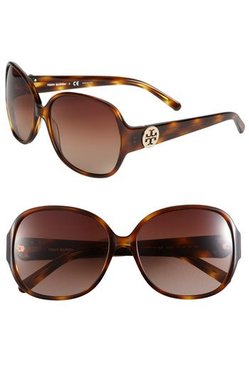 Tory Burch Tortoise Square Sunglasses. Available at Monkee's of Morrocroft, 704-442-7337.