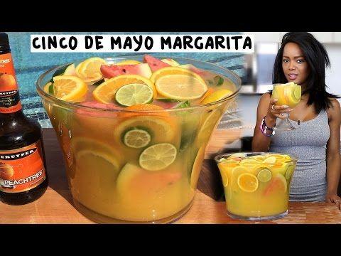 Cinco De Mayo Cadillac Margarita Bowl - TipsyBartender.com