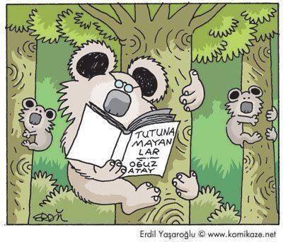Tutunamayanlar | Oğuz Atay karikatür