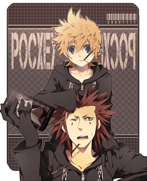 Axel, did you know you have a Roxas on your shoulders?