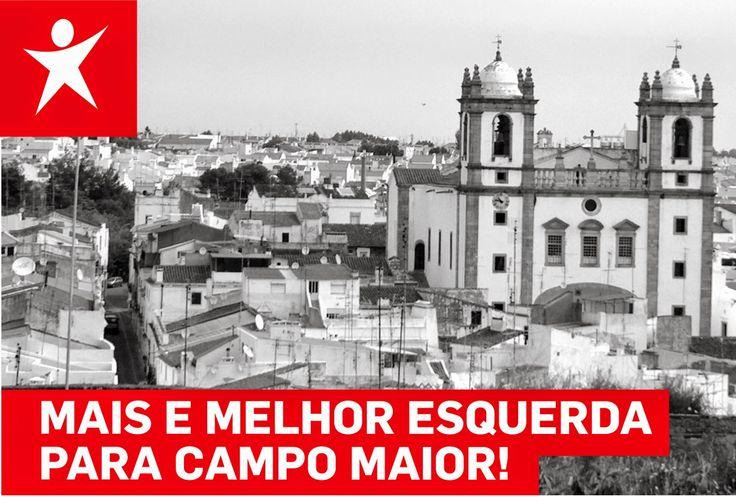Campomaiornews: Bloco de Esquerda vai ter nova sede em Campo Maior...