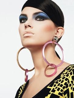 Le Fashionesque: 80's makeup