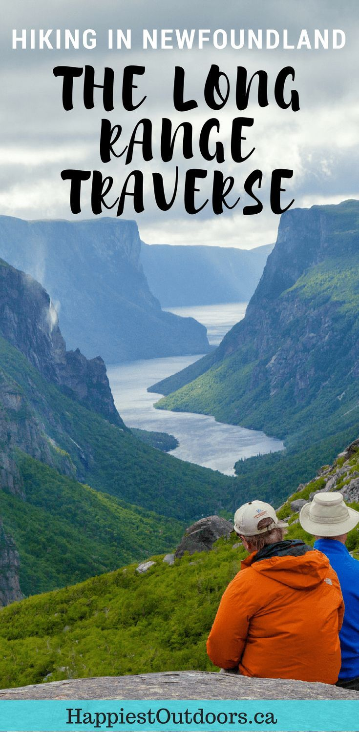 Hiking the Long Range Traverse in Gros Morne National Park, Newfoundland, Canada. A 5 day backpacking trip. #Canada #hiking #Newfoundland
