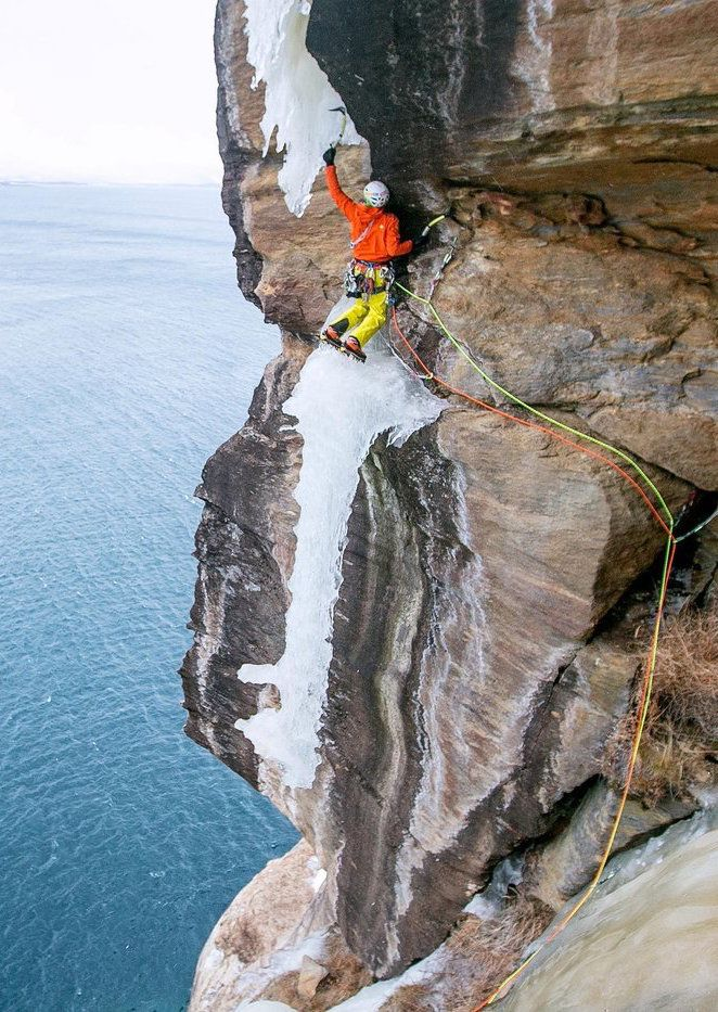 Terrifying Ice Climbs From the Past…