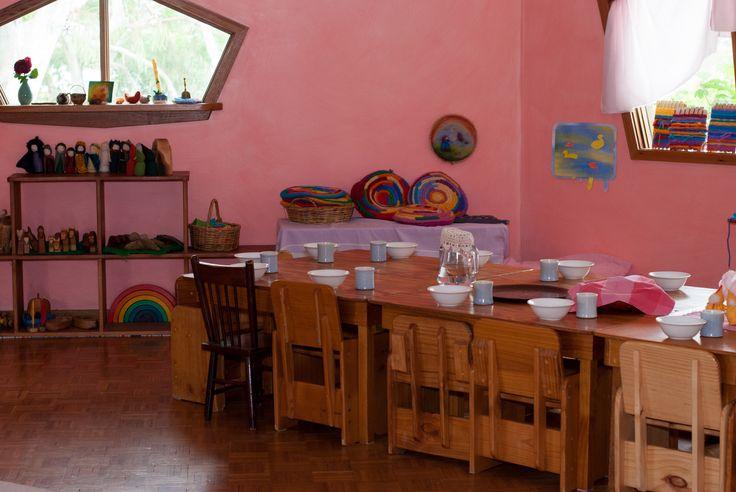 Kindergarten classroom at Orana Steiner School in Canberra, Australia