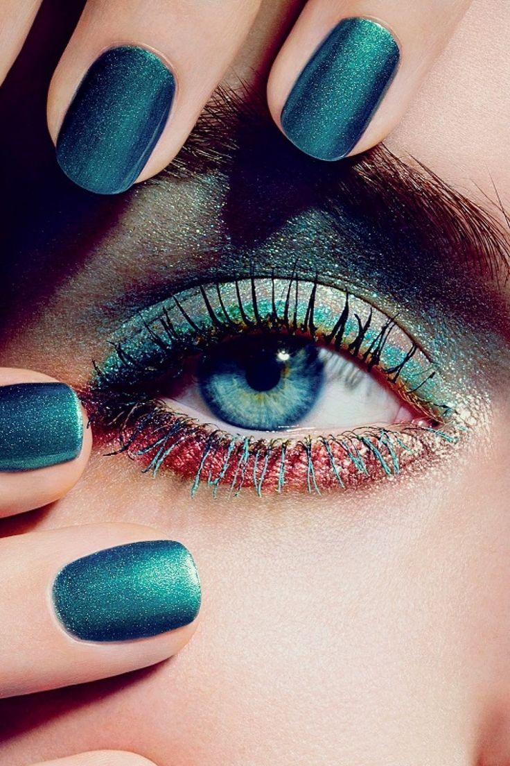 Βάψτε τα Νύχια σας, με Σκιές Ματιών!! (Videos)