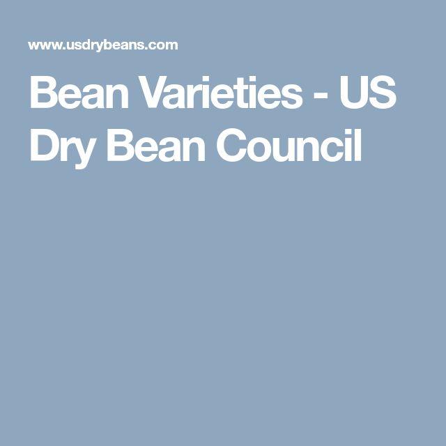 Bean Varieties - US Dry Bean Council