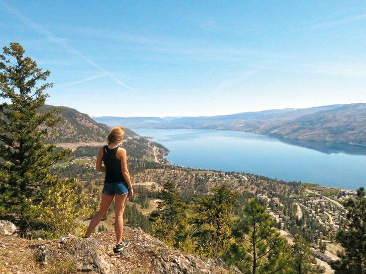 Pincushion Mountain hike near Peachland, Okanagan Valley