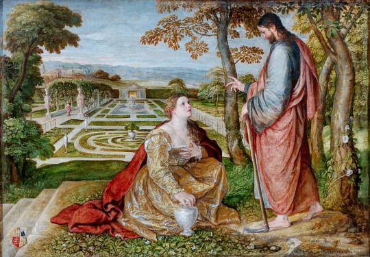 Noli me tangere, 1548-60  Lambert Sustris (1515–1591)