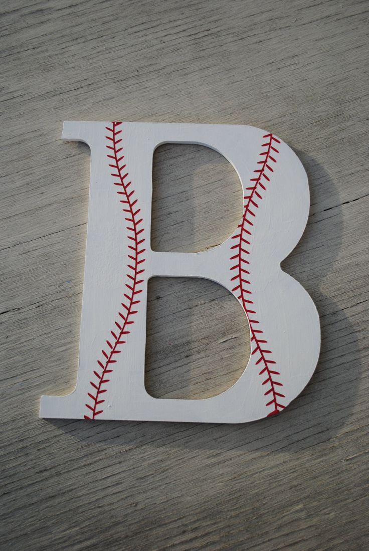 9 Quot Boys Baseball Sports Decorative Wooden Wall Letters