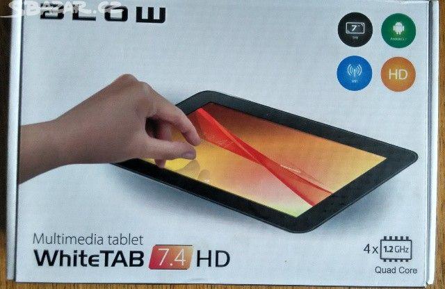 Tablet blow whiteTab 7.4HD 8GB - obrázek číslo 1