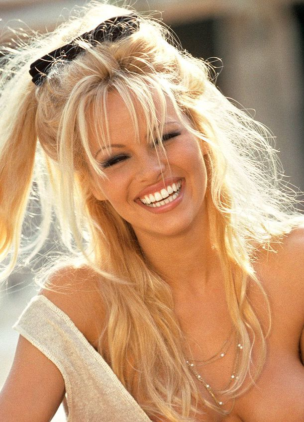 Pam Anderson Pamela For Playboy 1998 Playboy Her Smile