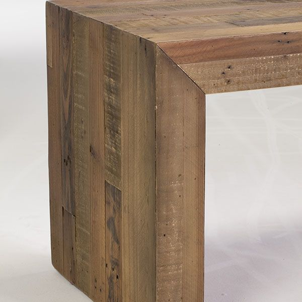The San Quentin Ruskin Bench (Large) - Rustic Dining Benches and Chairs
