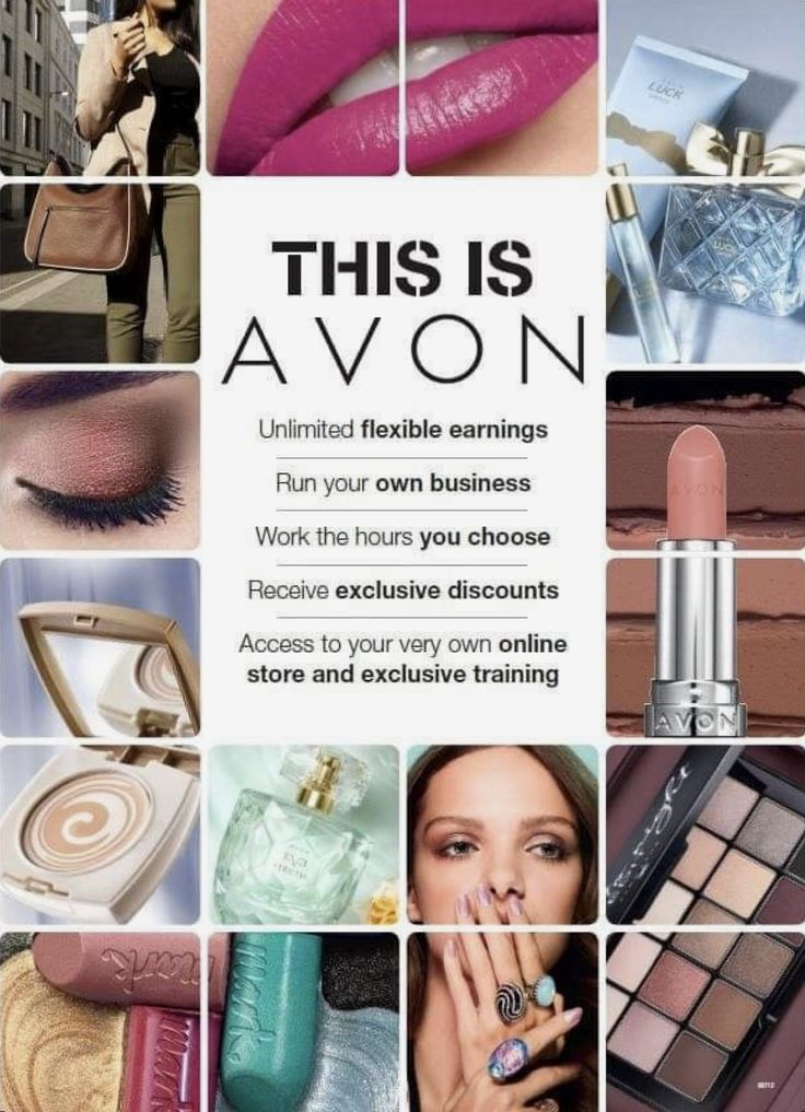 Start working from home with your own Avon beauty business