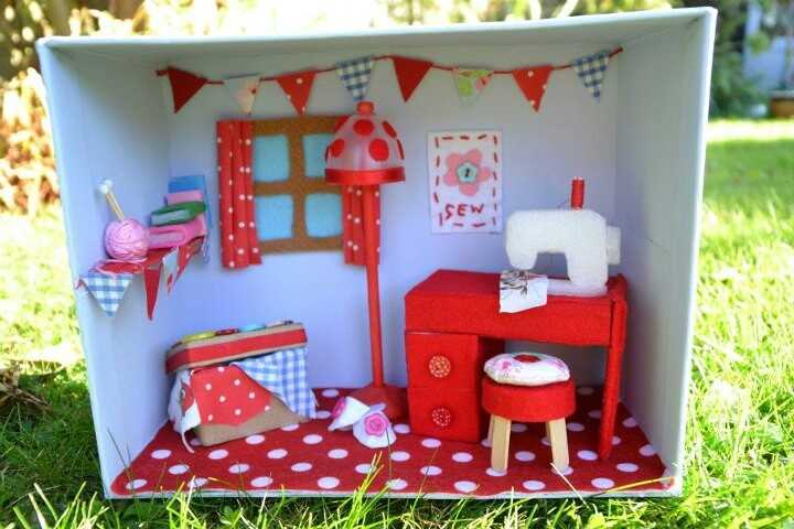 Found On Cath Kidston S Fb Page In Her Dream Room In A: 85 Best Knutselideeen Images On Pinterest