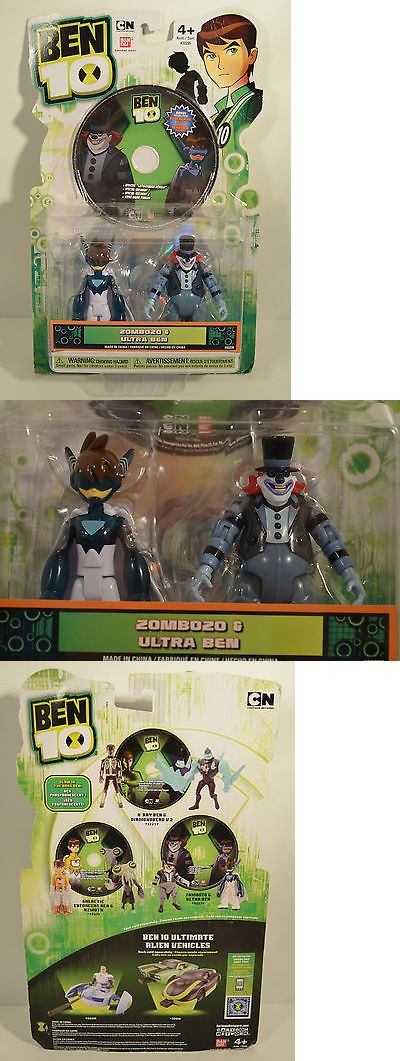 Ben 10 152906: Rare 2011 Ultra Ben And Zombozo 4 Bandai Action Figure Dvd Ben 10 Ultimate Alien -> BUY IT NOW ONLY: $49.99 on eBay!