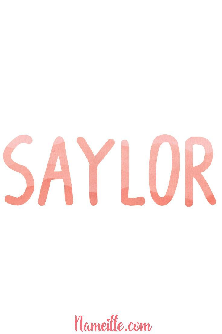 Gender Neutral Unisex Baby Names Nameille Saylor
